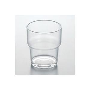 【メタクリル樹脂】段付タンブラー スリーライン[253-TW]【透明食器 コップ ガラス調 グラス プラスチック製 業務用 お冷 水】|kyoeinet