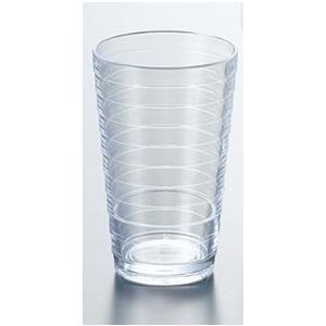 ポリカーボネート製 8オンスループタンブラー (ホワイト) スリーライン[TCL-8W] 透明食器 コップ ガラス調 グラス PC製 プラスチック製 業務用|kyoeinet