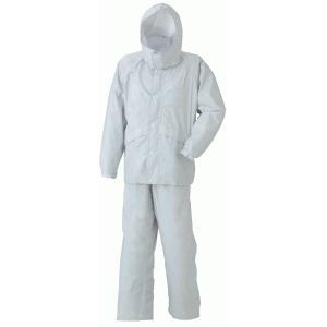 スミクラ 透湿ストリートスーツ BIGサイズ A-625  視界の広い回転フード付き レインウェア(カッパ)通勤・通学に。反射機能で安心安全。無地 大きいサイズ|kyoeinet