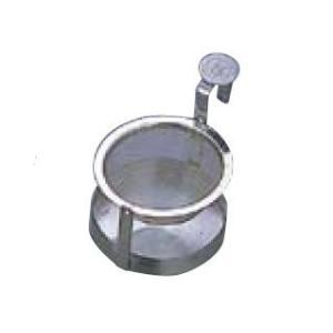 卓上用品 ティー・お茶・紅茶用品 茶こし・ストレーナー ステンレス製 18-8 ビクトリー回転茶漉 大(EBM18-1)(1079-11)|kyoeinet