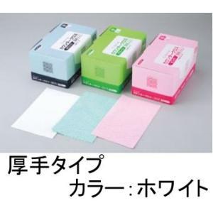 清掃用品・台ふきん クレシア 抗菌カウンタークロス 厚手 ホワイト(60枚入)(EBM18-1)(2095-22)|kyoeinet