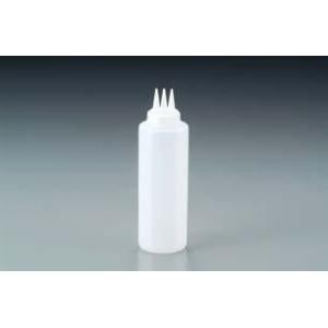 【ディスペンサーボトル】【マヨネーズをかけるのに最適!お好み焼き屋さんなどに】【容量170ml】 3ッ穴ディスペンサー(EBM18-1)(383-22)|kyoeinet