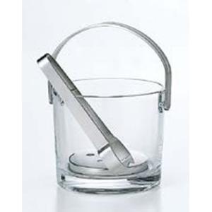 【ワイン・バー用品】【業務用】【ウイスキー・焼酎・カクテル用品】【アイスペール・氷入れ】ガラス アイスペールノーブルP-12601(EBM17-1)(1719-01) kyoeinet