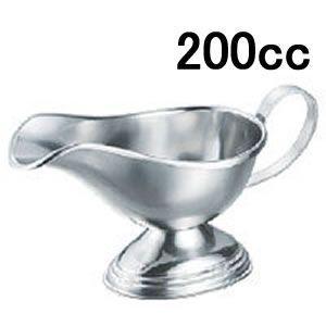 【ソースポット・グレービーポット・カレーポット】【ステンレス製】【洋食器】IKDエコクリーン 18-8ソースポット 中(200cc)(EBM17-1)(1766-04) kyoeinet
