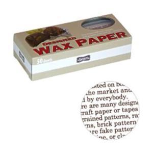 【ラッピング用品】【製菓用品】【ワックスペーパー】【ラッピングペーパー】【耐油製】WAXペーパー(50枚入)ハンディ カカオPG-39(EBM17-1)(792-03)|kyoeinet