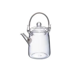 卓上用品 ティー・お茶・紅茶用品 ポット 耐熱ガラス製 HARIOハリオ アジアン急須筒型 QSA-1SV(EBM18-1)(1077-07)|kyoeinet
