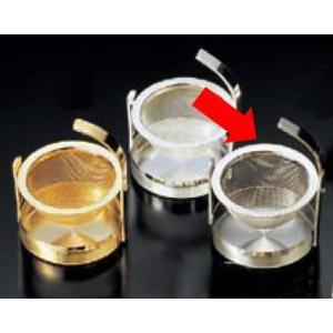 卓上用品 ティー・お茶・紅茶用品 茶こし・ストレーナー ステンレス製 18-8ティーストレーナー スウィング(EBM18-1)(1079-12)|kyoeinet
