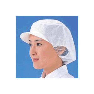 キャップ 帽子 厨房用 作業用 エレクト・ネット帽EL-402W(男女兼用)(20枚入)(EBM18-1)(1957-04)|kyoeinet