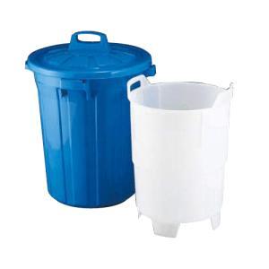 代引不可 清掃用品・ゴミ箱・ペール 送料無料! 生ゴミ水切り容器GK-60(中容器付き)(EBM18-1)(2045-03)|kyoeinet