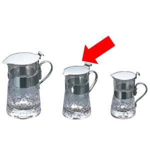 【卓上用品】【ティー・お茶・紅茶用品】【ミルク・シロップ・容器・ポット】【ガラス製】ガラス 矢来ミルクピッチャーYR-28 中40ml(EBM17-1)(1615-33) kyoeinet