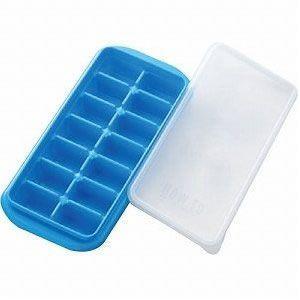【キッチン用品】【業務用】【製氷皿・製氷器・アイストレー】ハウツーアイストレー(密封フタ付) ブロック型PH-F65(14個取り)(EBM18-1)(1144-10)|kyoeinet