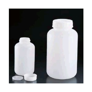 保存容器 キッチンポット・プラスチック製 PEポリエチレン丸ボトル SKHシリーズ(内ふた付) SKH-3K (140×265mm)3,000ml (8-0242-0204)|kyoeinet