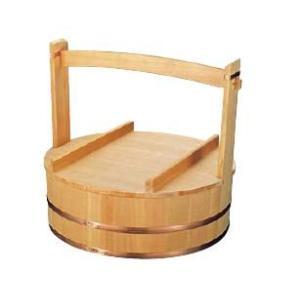 木製 出前岡持(椹製) 45cm φ420×深さ130mm (7-0377-1401)|kyoeinet