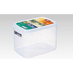 【保存容器・タッパー容器・キッチンポット】【プラスチック製】【レンジOK】【220×158×H145】4000ml ネオキーパー・パックケース深型 B-1817(6-0213-0901)|kyoeinet