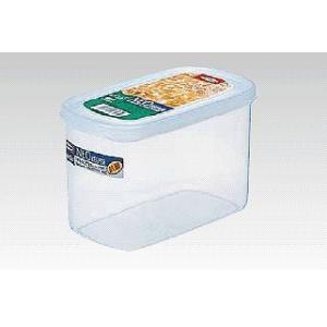 保存容器・キッチンポット プラスチック製 抗菌 101×172×H104 1200ml ネオキーパー・ラージポケット B-1858 M (7-0219-1402)|kyoeinet