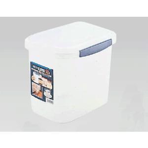 【保存容器・タッパー・キッチンポット】【プラスチック製】【311×225×H245】10L ラストロ ロック式ジャンボケース B-892 (6-0212-1301)|kyoeinet