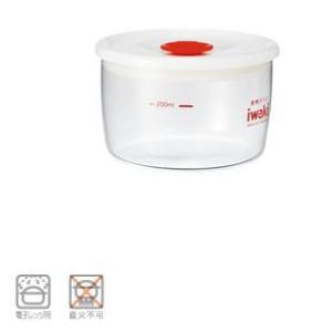保存容器|密閉・密封式容器|耐熱ガラス製|電子レンジOK iwaki(イワキ) 密閉パック KT7014SMP-R φ100×H63mm (6-0228-0504)|kyoeinet