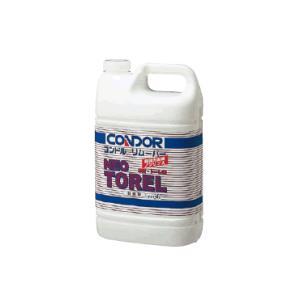ワックス 清掃・掃除道具 剥離材 強力タイプ・リムーバー ワックスはがし コンドルリムーバー「ネオトーレル」4L(ハクリ剤) (山崎産業)|kyoeinet