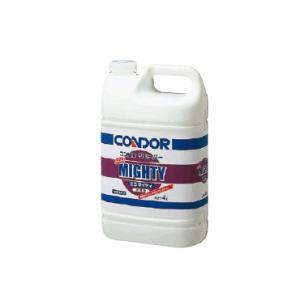 清掃用品・掃除道具 ワックス・剥離材 中性タイプ・リムーバー ワックスはがし コンドルリムーバー「エコマイティ」4L(ハクリ剤) (山崎産業)|kyoeinet