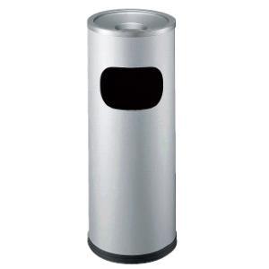 送料無料! 施設用品・屋内用灰皿 スモーキングスタンド・喫煙室 スモークリン DS-1300(STヘアーライン) 17L (山崎産業)|kyoeinet