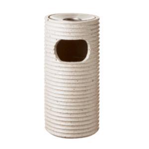 ※代引不可※受注生産品約6週間 送料無料 屋外用灰皿 スモーキングスタンド・喫煙室 スモーキング ポーセライン VM-300(DS-18C-YQ) 9L (山崎産業)|kyoeinet