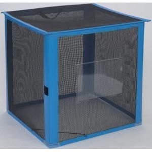 資源ゴミ回収用・ゴミ回収ステーション 持ち運び簡単 イベントなどに 自立ゴミ枠 折りたたみ式 黒 250L (テラモト)[DS-261-011-9]|kyoeinet