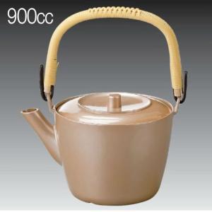 900ml プラスチック製 どびん(急須) 加賀土瓶 大 銀透べっ甲 茶こしセット(3-1489-2)食洗機使用可能(食洗機対応) 割れにくい 急須 耐熱ABS製|kyoeinet