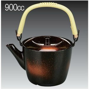 900ml プラスチック製 どびん(急須) 加賀土瓶 大 新雲 茶こしセット(3-1489-10)食洗機使用可能(食洗機対応) 割れにくい 急須 耐熱ABS製 kyoeinet