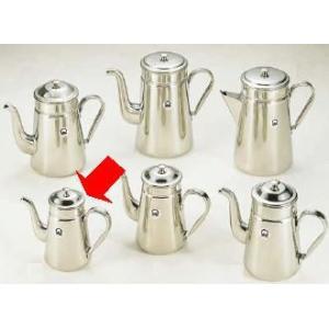 コーヒーポット 18-8ステンレス製 コーヒーポット ♯11 電磁調理器用 1,000cc (7-0854-0401)|kyoeinet