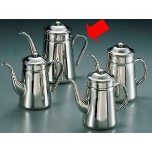 コーヒーポット 18-8ステンレス製 コーヒーポット 細口 ♯16 電磁調理器用 3,000cc (7-0854-1303)|kyoeinet