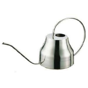 コーヒーポット 18-8ステンレス製 長首コーヒーサーバー 1,300cc (7-0854-2101)|kyoeinet