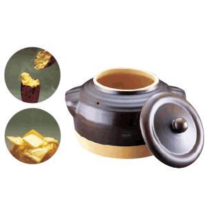 焼き芋鍋 おうちでほっくほくのやきいもが楽しめるんです! イシガキ 陶器製やきいも鍋 2180 (7...