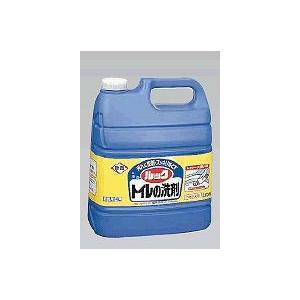 トイレ掃除用洗剤 ライオントイレのルック 4L(6-1279-1402)|kyoeinet