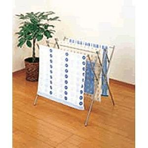 物干し・タオル掛け 室内・ベランダ・テラス・洗濯物・部屋干し セキスイ ステンレス室内用ものほし台DS-100 (6-1195-0301)|kyoeinet