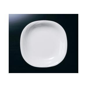 メラミン ピュアホワイト 16.5cm深皿 (165×165×25mm・280cc) マンネン/萬年[PH-2002] 業務用プラスチック製無地食器