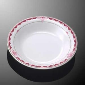 メラミン製・プラスチック製 業務用食器 樹脂製 洋食器 洋風 ルージュロワ スープ皿 (230×H37 660ml) マルケイ E94RRO|kyoeinet