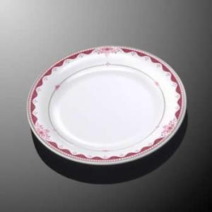 メラミン製・プラスチック製 業務用食器 樹脂製 洋食器 洋風 ルージュロワ ライス皿 (195×H19) マルケイ E95RRO|kyoeinet