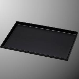 メラミン トレー 大 モノクローム・エコブラック(黒) mellinaメリーナ/国際化工 [M803EB] 客室備品 プラスチック製|kyoeinet