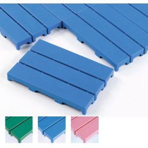 プラスチック製スノコ 業務用 つなげるブロックタイプ 防湿用床材としても エコブロックスノコ 1ピース(297×444mm) (テラモト)[MR-095-010]|kyoeinet