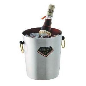 【ワイン用品】【ワイン・シャンパンクーラー】MS 18-0ステンレス製 パーティクーラー チャオ MR-310 4L (6-1722-0801)|kyoeinet