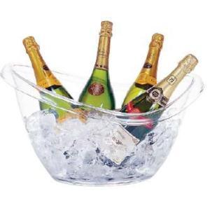 【ワイン用品】【ワイン・シャンパンクーラー】ブッフェタブ オーバル AB-19 11.2L (6-1725-0601)|kyoeinet