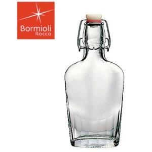 保存瓶|ガラス製|オイル|ドレッシング|果実酒|ビネガー ボルミオリ・ロッコ フィアスチェッタボトル 0.25L 3.88540 (6-0231-0401)|kyoeinet