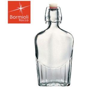 ガラス製|オイル|ドレッシング|果実酒【保存瓶|ビネガー】ボルミオリ・ロッコ フィアスチェッタボトル 0.5L 3.89130 (6-0231-0402)|kyoeinet