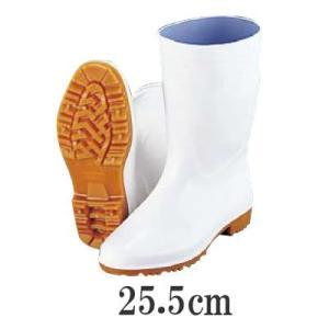 厨房・調理場用 業務用長靴・ブーツ 弘進ゾナG3白長靴(耐油性)25.5cm(6-1305-0307)|kyoeinet
