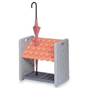 送料無料! 施設用品・傘立て 雨天用品 組立式 収納 24本立 幅50×奥行36×高さ49cm テラモト アーバンピット K24 (24本立)|kyoeinet