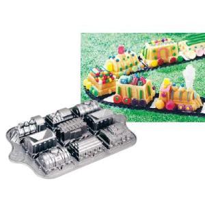 製菓用品・ケーキ型 お菓子作り・道具 電車型!お子様の記念日に手作りのケーキを♪ ノルディックウェアー トレインパン No.59037 (6-0974-0101)|kyoeinet