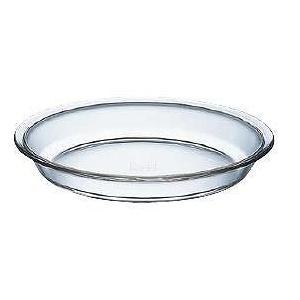 製菓用品|ケーキ型|耐熱ガラス|電子レンジ・オーブンOK 23cm iwaki(イワキ) パイ皿 KBT209(L) (6-0958-1801)|kyoeinet