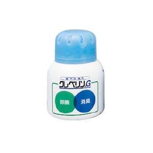 除菌剤・消毒液 室内空間に浮遊する菌の除去に! 大幸薬品クレベリンゲル  二酸化塩素ガス発生ゲルクレベリンG 60g (6-1295-0301) kyoeinet