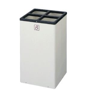 送料無料 施設用品・傘立て 雨天用品 収納 増設できるボックス型 16本立 幅30×奥行30×高さ50cm アンブラーデュオK-300 (山崎産業)|kyoeinet