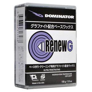 DOMINATOR(ドミネーター) RENEW SERIES BASE WAX RENEW GRAPHITE(リニューグラファイト)400g|kyoeisports2
